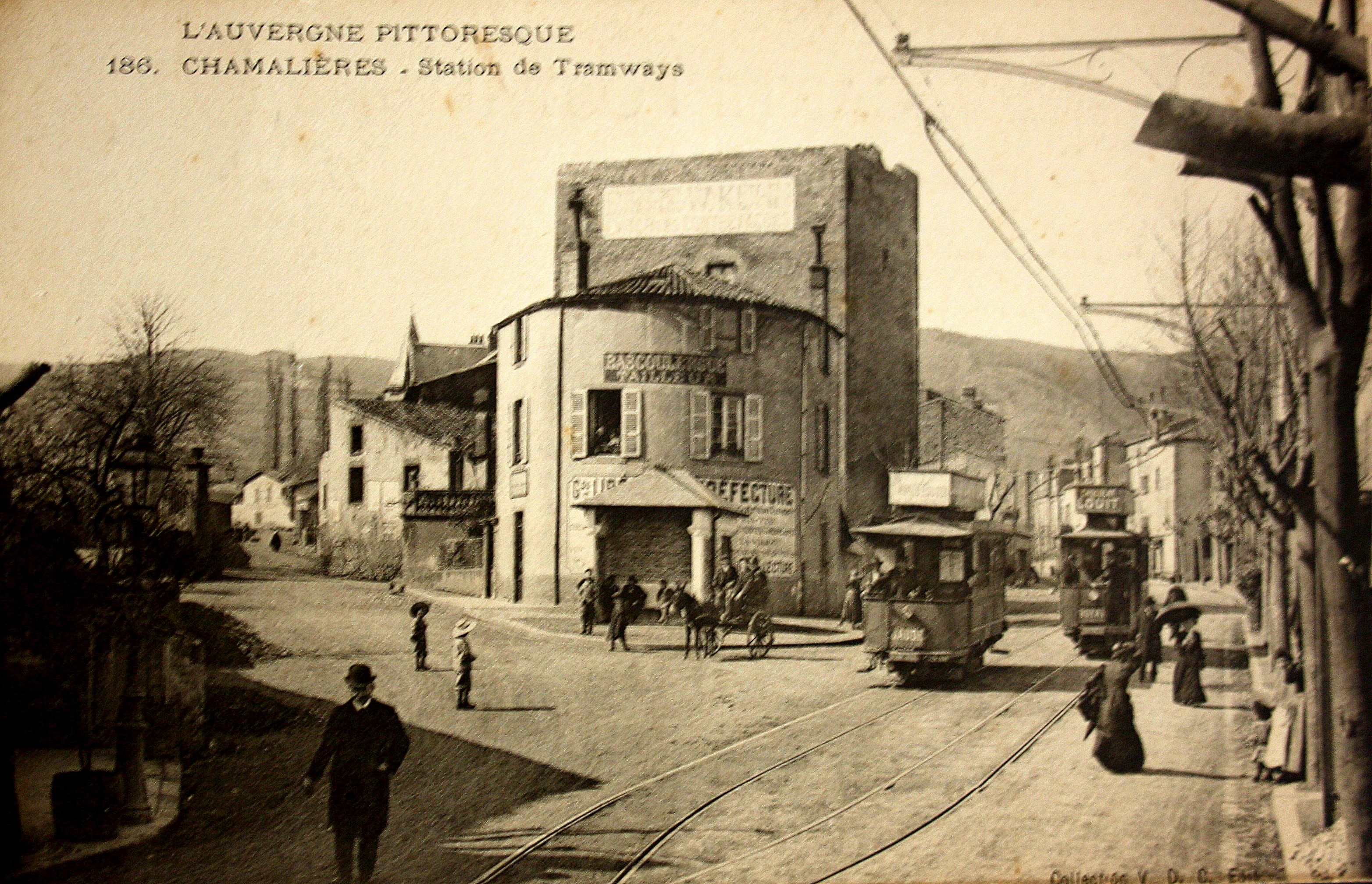 AUVERGNE TRAMWAY A CHAMALIERES